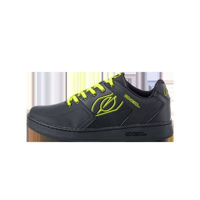 O Neal Pinned Pedal Black/Neon Yellow