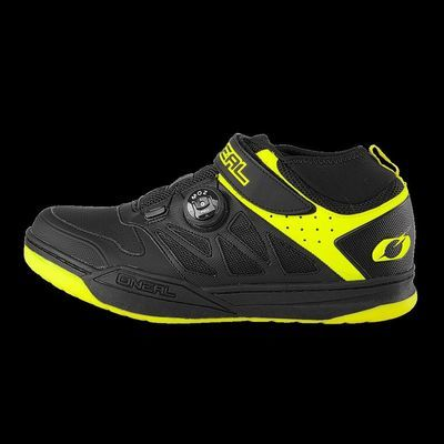 O Neal Session SPD Black/Neon Yellow