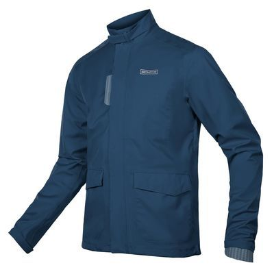 Endura Brompton London Waterproof Jacket Navy