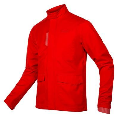 Endura Brompton London Waterproof Jacket Red